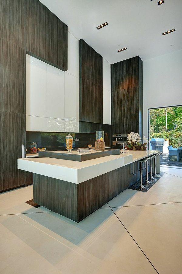 Küchen mit Kochinsel küchenblock freistehend | Wohnen | Pinterest ...