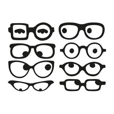 f1dd604fac Gafas. Vinilo decorativo | VINILOS DECORATIVOS | Gafas, Lentes ...