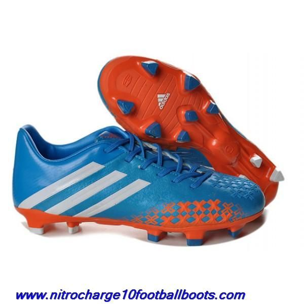 sports shoes dd27d 39c7e Buy Release Blue White Orange adidas Predator LZ II TRX FGs ...