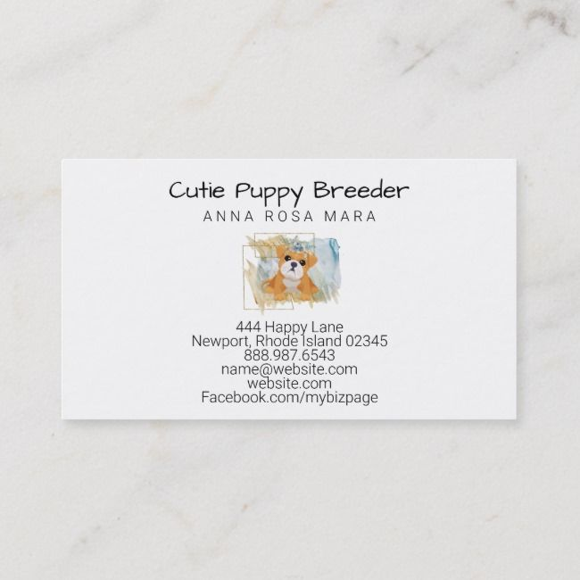 Breeder Cards For Rlr Bulldogs In Jacobsburg Ohio Business