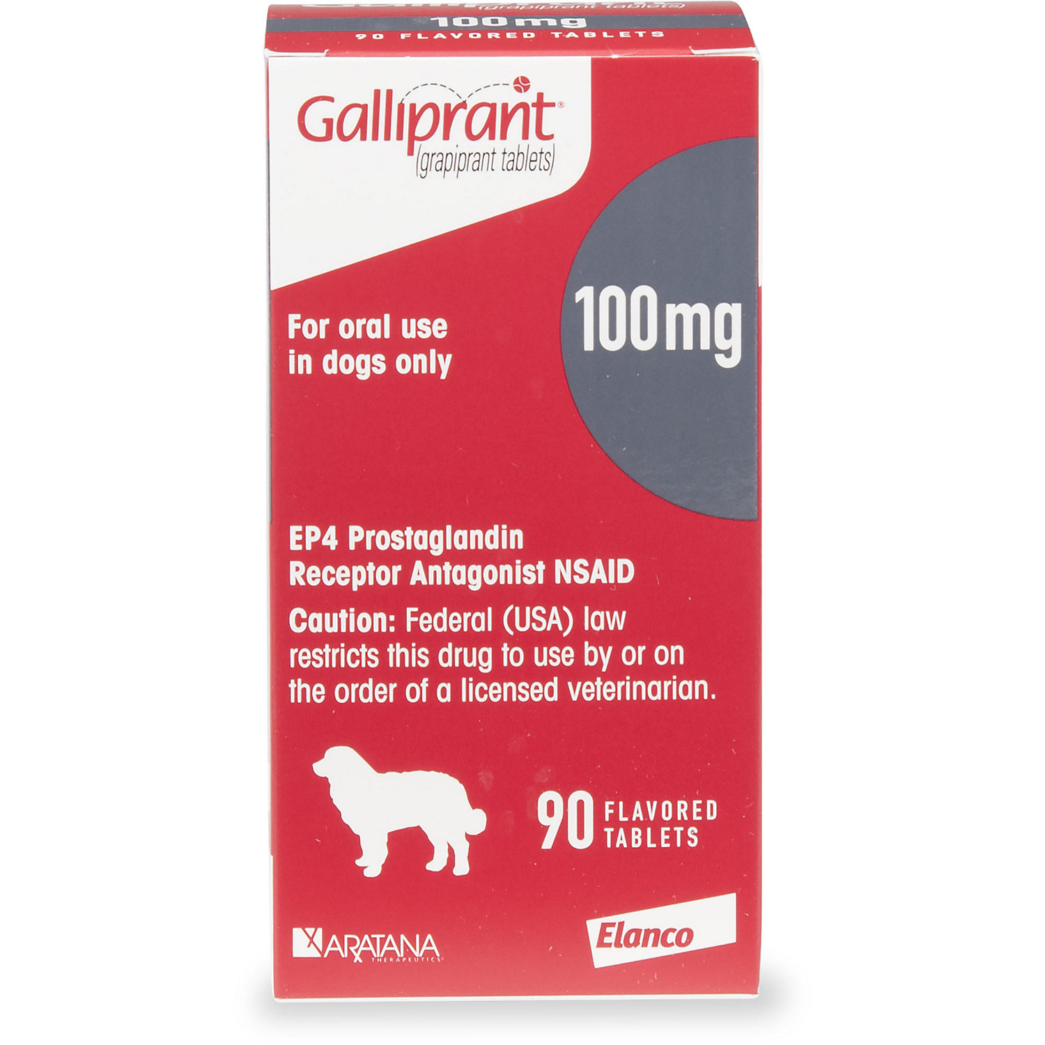 Galliprant 100 Mg Flavored Tablets For Dogs 30 Count Vet Clinics Medical Prescription Dogs