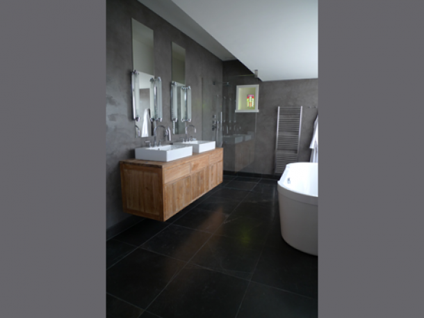 Beautiful Badkamer Grijs Hout Photos - New Home Design 2018 ...