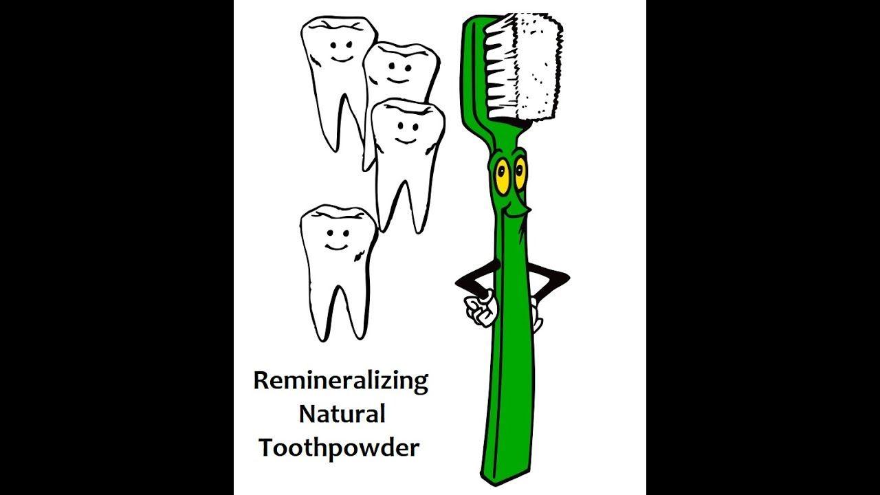 Diy remineralizing tooth powder for sensative teeth