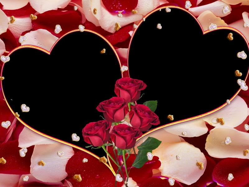 Descargar Marcos De Foto Para San Valentin Plantillas Corazones