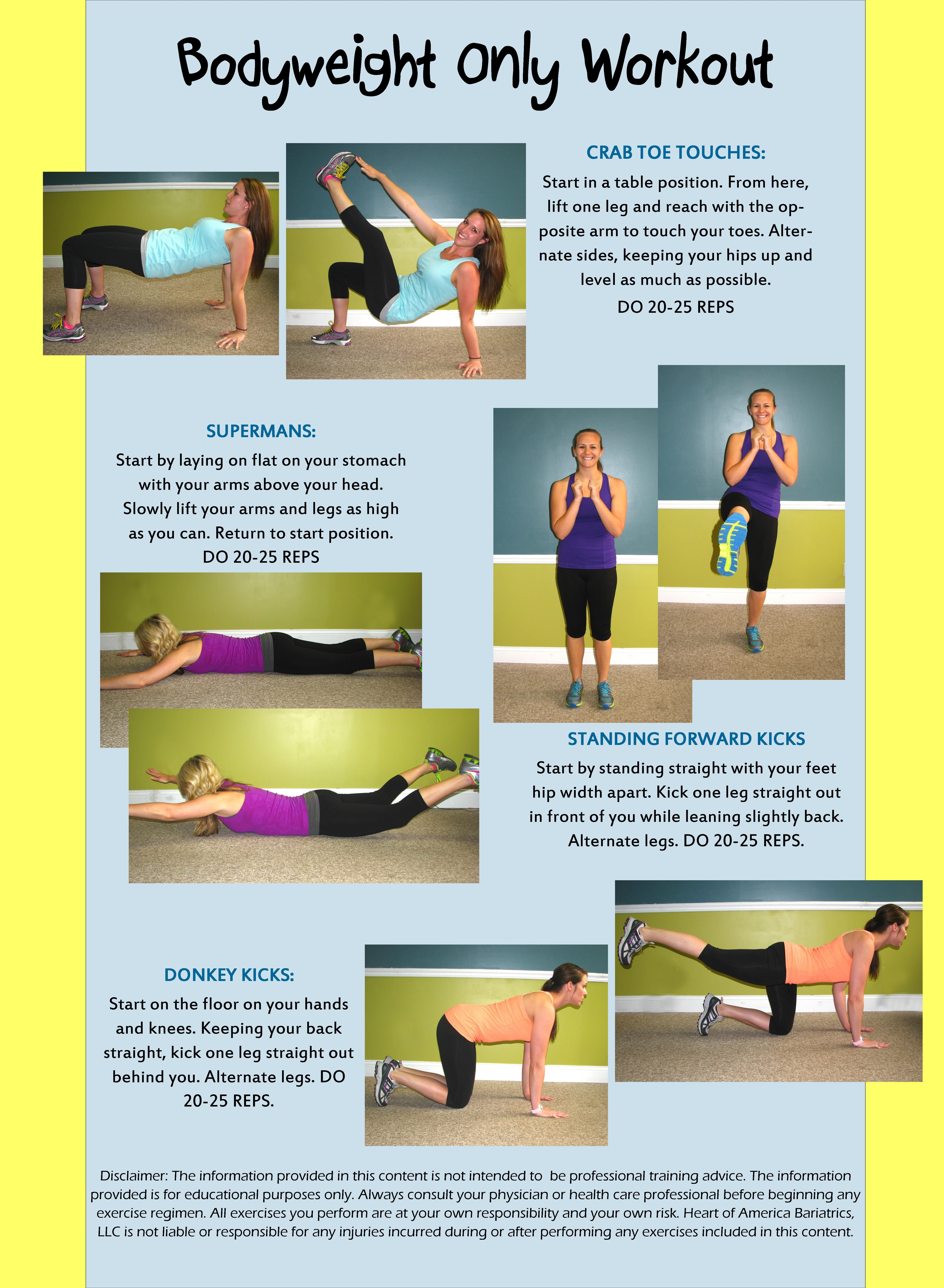 Heart Of America Bariatrics St Louis Wednesday Workout Workout Alphabet Workout