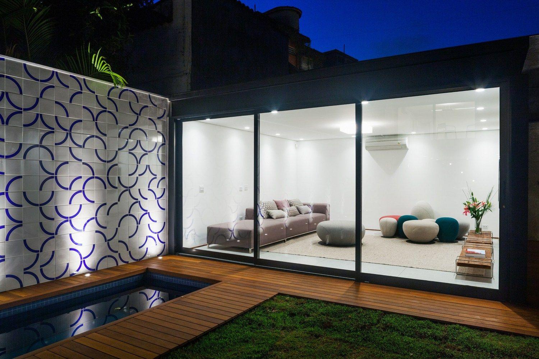 Galer a de casa 7x37 cr2 arquitetura 10 mi casa for Casa minimalista tlalpan