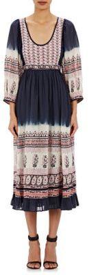 Ulla Johnson Women's Floral Ombré Donna Dress