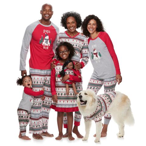 Family Christmas Pajamas Including Dog.Pin On Christmas Ideas