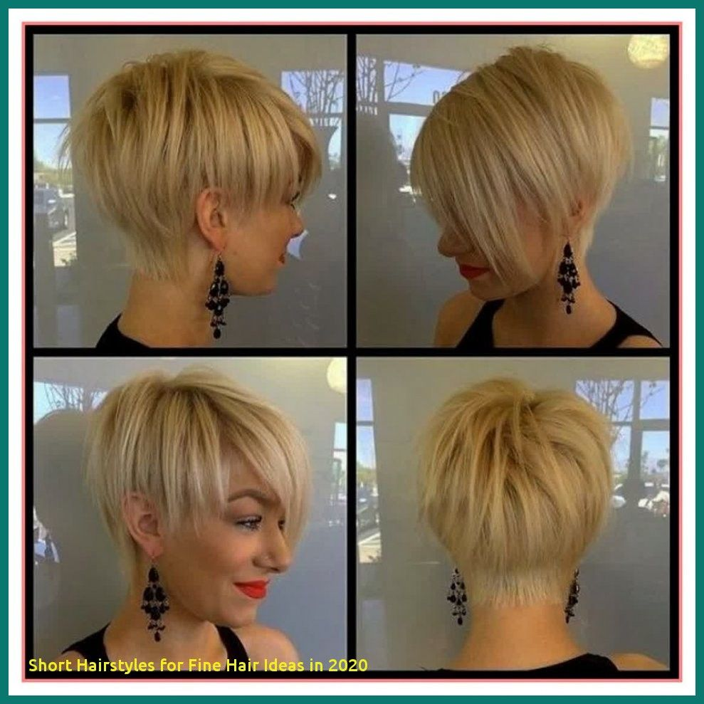 97 Awesome Short Hairstyles For Fine Hair Ideas In 2020 In 2020 Cute Hairstyles For Short Hair Hair Inspiration Short Thin Hair Styles For Women