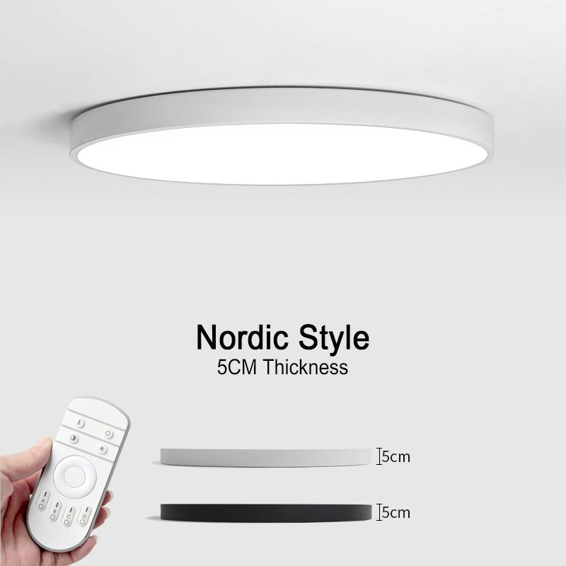 Led Modern Ceiling Lights Nordic Style Ceiling Lamps Remote