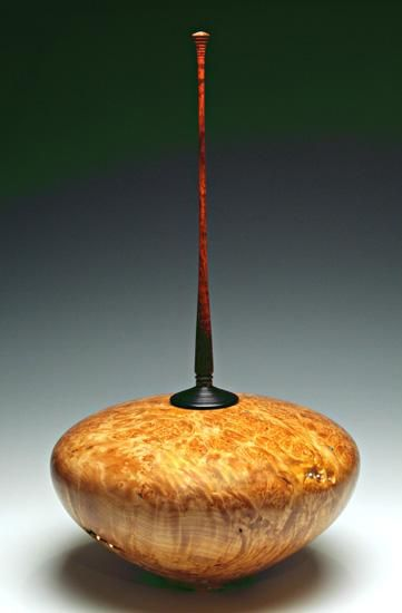 Last Contact to Andromeda: John M. Russell: Wood Vessel - Artful Home