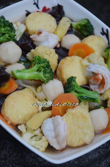 Diah Didi S Kitchen Sapo Tahu Udang Resep Masakan Masakan Vegetarian Resep Makanan Cina