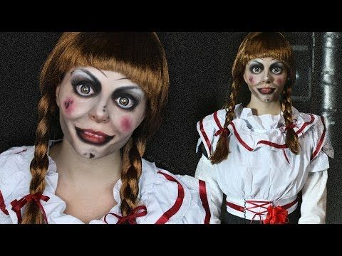Creepy Doll Makeup Tutorial Annabelle The Conjuring You