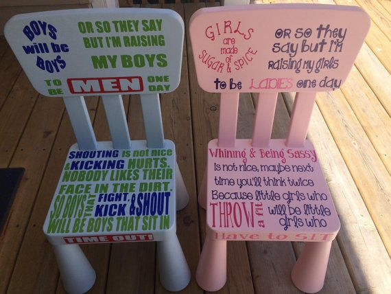 Time Out Chair With Timer little girl and boys time out chair - google search | babyg