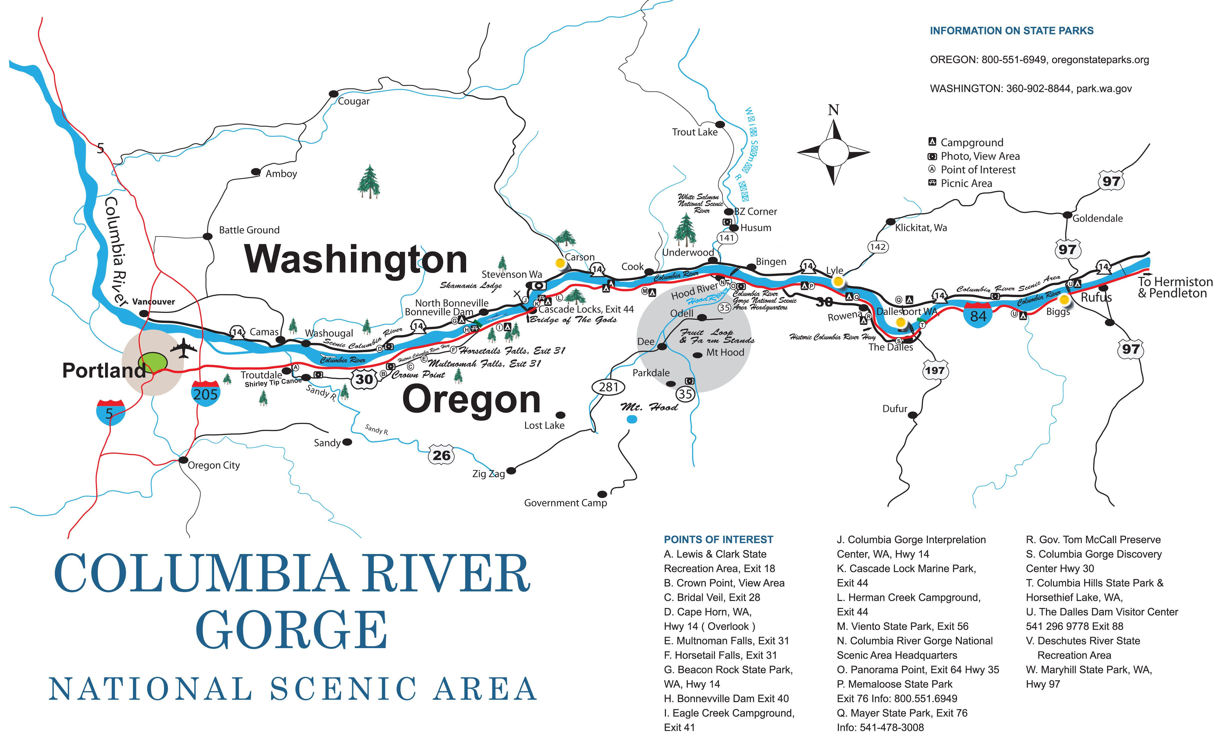 The Wait Is Almost Over Some Hiking Trails In The Columbia River Gorge Closed By The Eagle Creek Fire Are Oregon Travel Columbia River Gorge Columbia River