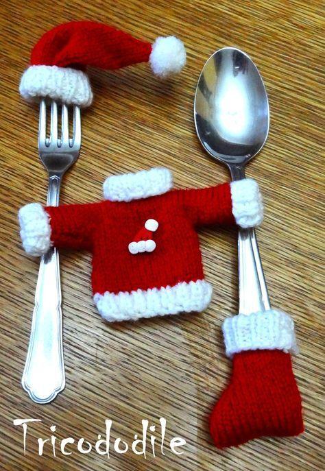 la botte et le bonnet de Noêl miniature tricot : LE TUTO gratuit