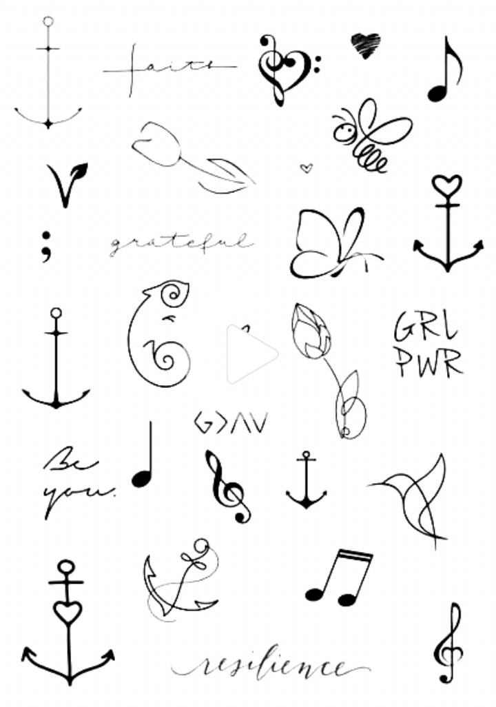 Ideas de tatuajes tatuajes pequeños y sencillos 42+ Ideas #tattoo Tatuajes de pájaros pequeños