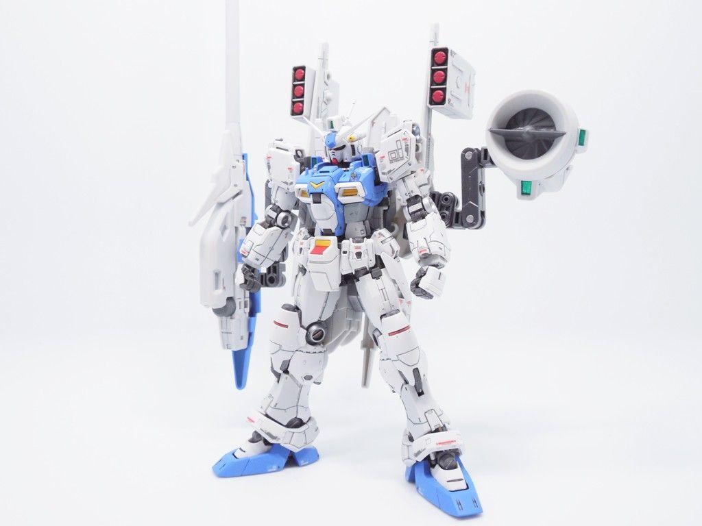 【心得】RG - Enhanced Gundam GP01 強化型鋼彈試作1號機 @模型技術與資訊 哈啦板 - 巴哈姆特