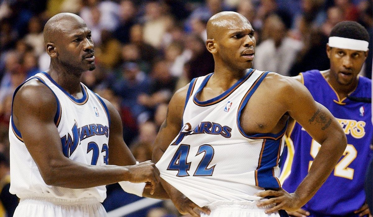 Stackhouse: 'I wish I never played' for Wizards with Michael Jordan
