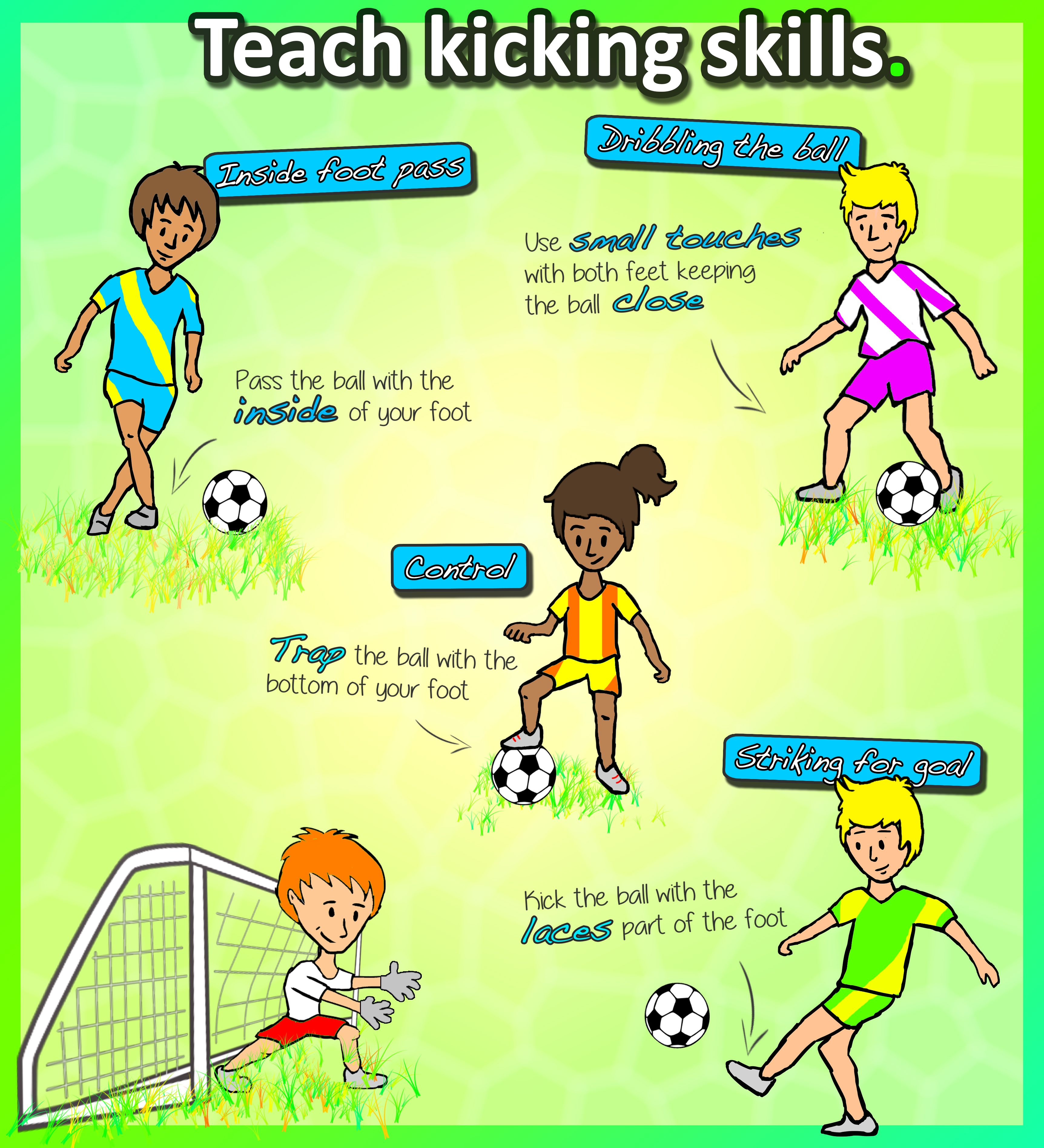 How To Teach The Kicking Skills Turn Your K 3 S Into