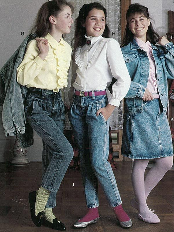 Girls fashion from a 1987 catalog vintage fashion 1980s 1980s women 39 s girls fashion Fashion style in 80 s