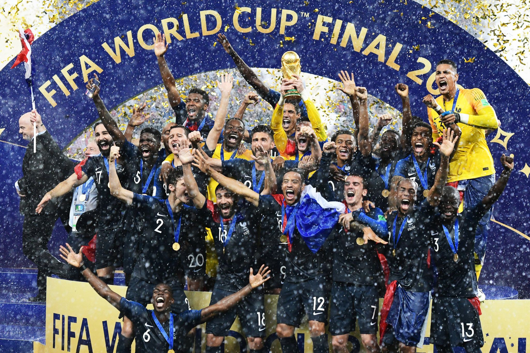 France A World Cup Champion That Stood Above It All In Russia World Cup Champions World Cup Winners World Cup Final 2018