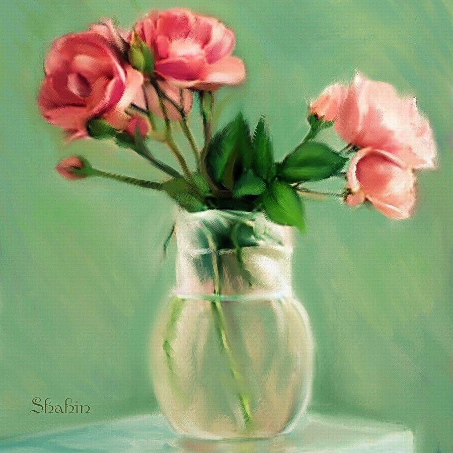 Paintings of flowers in vases imagine publishing corel painter paintings of flowers in vases imagine publishing corel painter official magazine learn to reviewsmspy