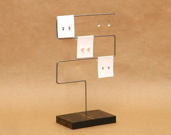 Earring Holder Card Display Stand By Usaveco