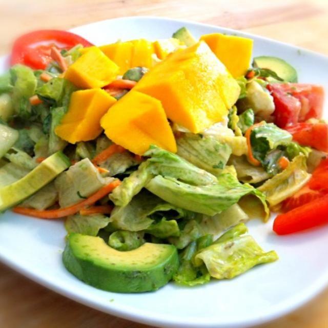 follow me,thank you nice to meet you ✨✋ - 39件のもぐもぐ - Mango avocado salad by Juliee ~ ジュリー