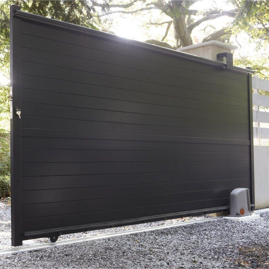 Porte De Garage Sur Mesure Pas Cher In 2020 House Gate Design Garage Door Design House Main Gates Design