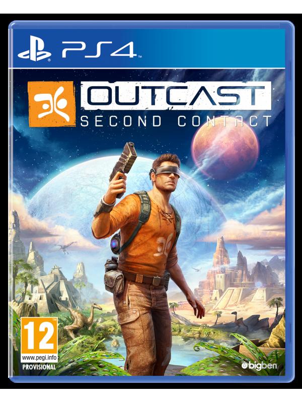 Игра Outcast Second Contact за PS4 Sci fi art, Science