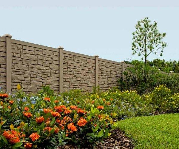 steinmauer sichtschutz windschutz-für den Garten-ideen Ideias - gartenideen wall