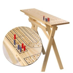 Delicieux Outdoor Pine Cribbage Board Table