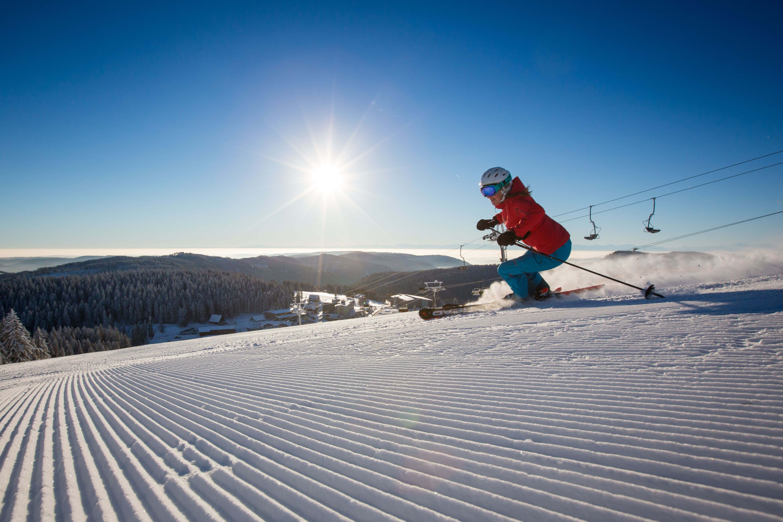 Skifahren Im Schwarzwald