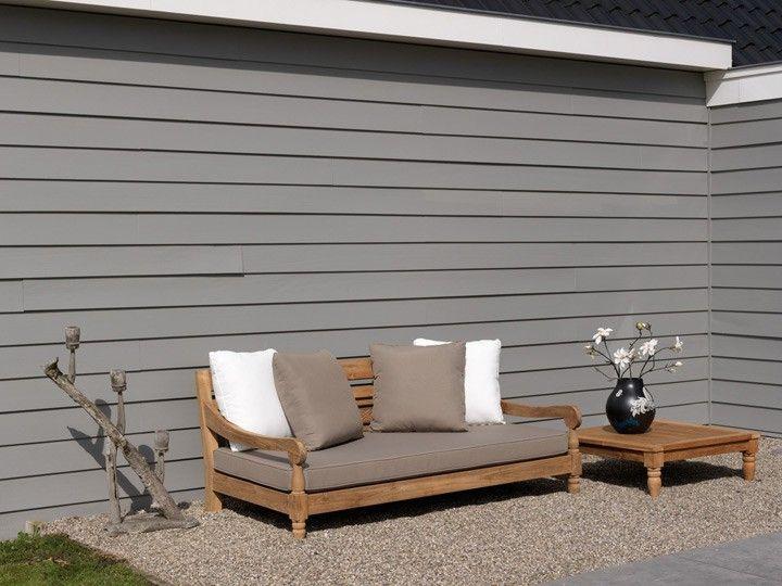 Lounge sofa outdoor teak  Im Freien, Garten and Lounges on Pinterest