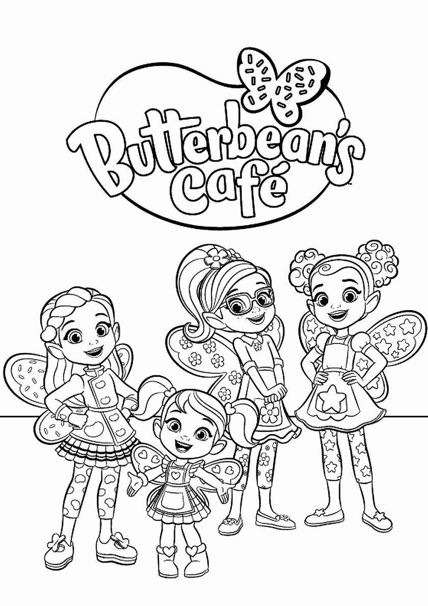 Disney Junior Coloring Games Beautiful Butterbean S Cafe Employees High Quality Free Coloring Free Coloring Pages Cartoon Coloring Pages Coloring Pages