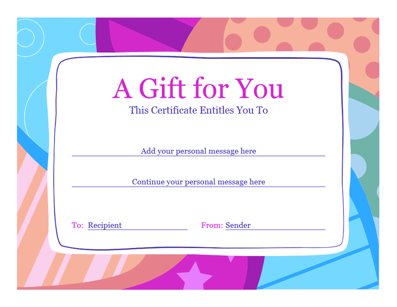 birthday gift certificate template word 2010 02 birthday