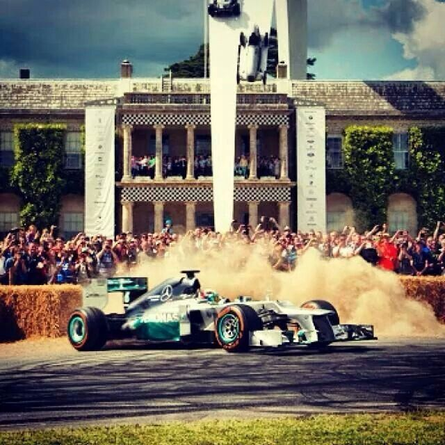Lewis Hamilton Goodwood festival of Speed 2014