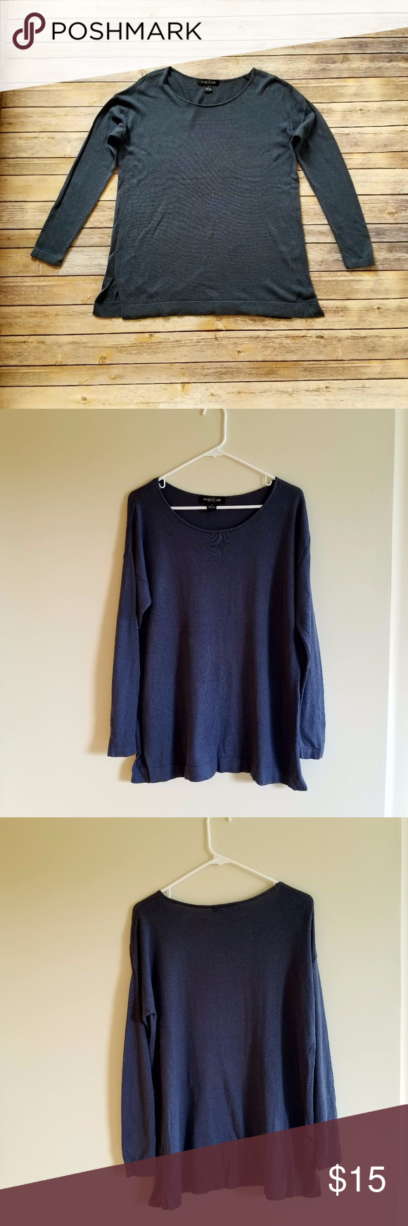 5 for $25 Long Cotton Sweater