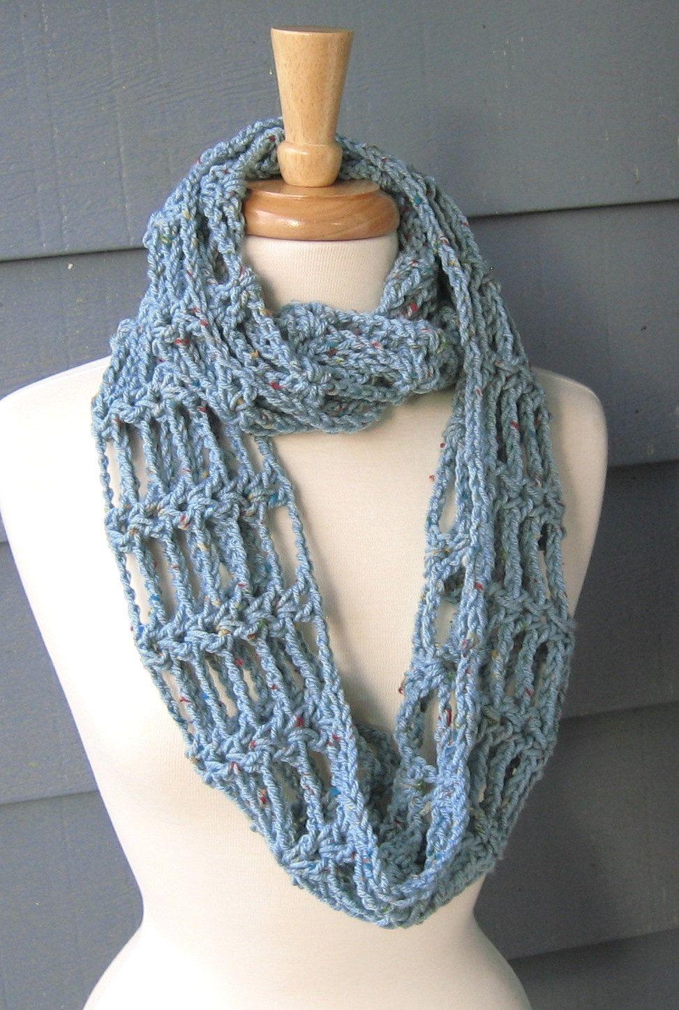 PATTERN S-010 / Crochet Pattern / Toni Infinity ... worsted 175-200 ...