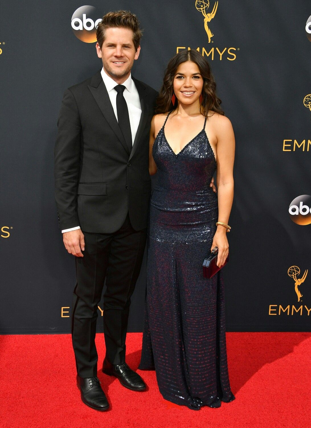 America Ferrera And Husband Ryan Piers Williams Cute Couples