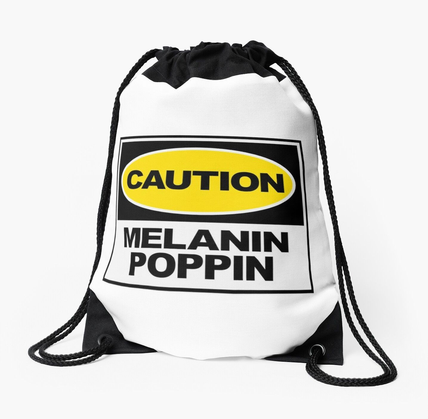 Caution Melanin Poppin Melanin Poppin Shirt Melanin Queen Natural Girls Rock Black Girl Magic Drawstring Bag By Coilsandglory In 2020 Natural Girls Rock Black Girl Magic Black Girl