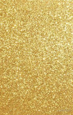 Gold Glitter Sparkly Shiny Metallic Yellow iPhone Case & Cover