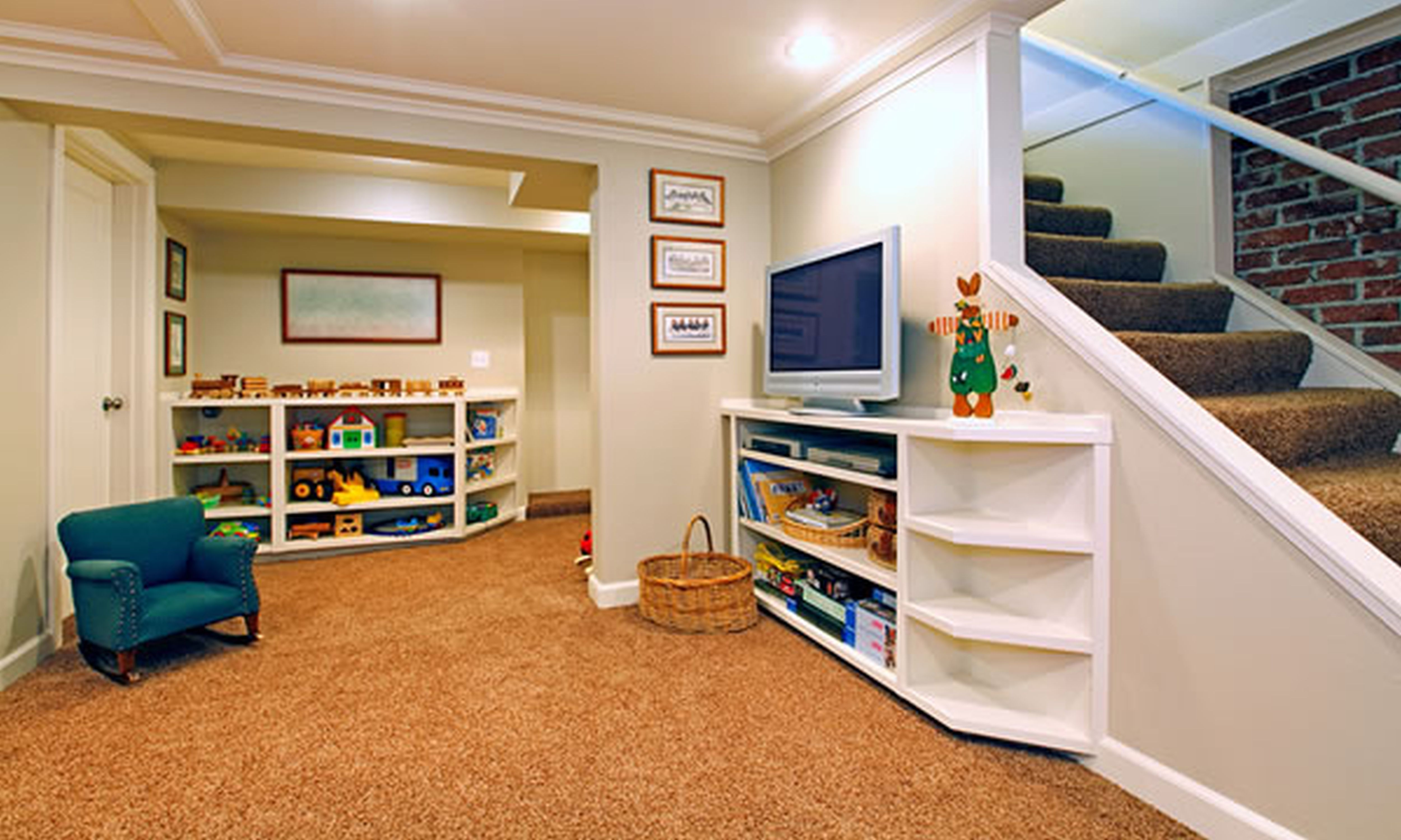 Exceptional basement ideas on a budget 7 cool finished for Cool basement designs