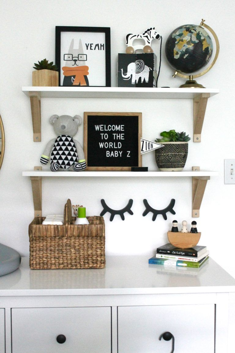 Cozy Little Boy Nursery Ideas Project Nursery Baby Room Shelves Nursery Shelves Green Baby Room