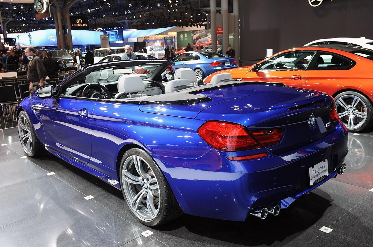 BMW представил M6 Convertible