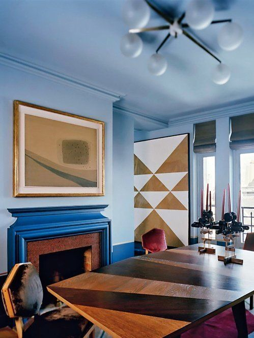 Try This Paint Your Ceiling The Same Color As Your Walls Studio Interior Interior Dining Room Design