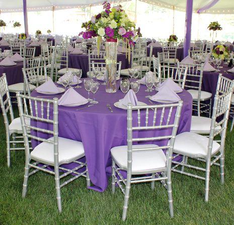 Royal Lime Purple And Turquoise Aqua Wedding Reception