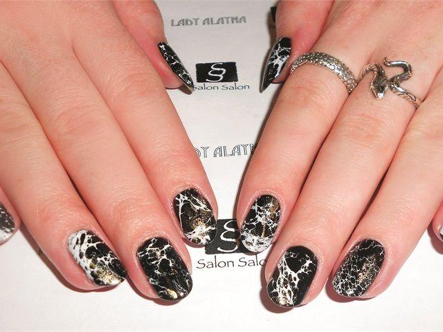 Nails That Rock Geode Nail Art Nails Magazine Rock Hound Nail
