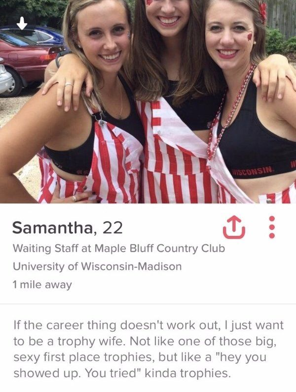 30 Funny Tinder Profiles That Are Straight To The Point